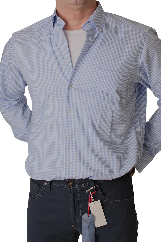 marvelis hemd 1710 69 11 blue extra langer arm modern fit. Black Bedroom Furniture Sets. Home Design Ideas
