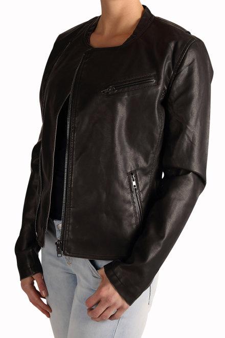 ltb damen kunstlederjacke morvan jacket 44037 200 black. Black Bedroom Furniture Sets. Home Design Ideas
