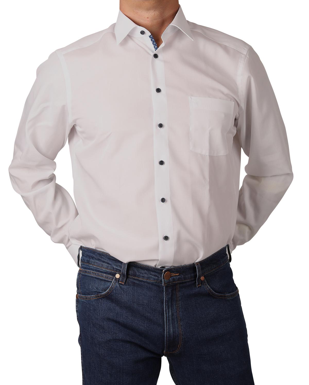 marvelis hemd modern fit 7204 29 00 extra langer arm wei. Black Bedroom Furniture Sets. Home Design Ideas