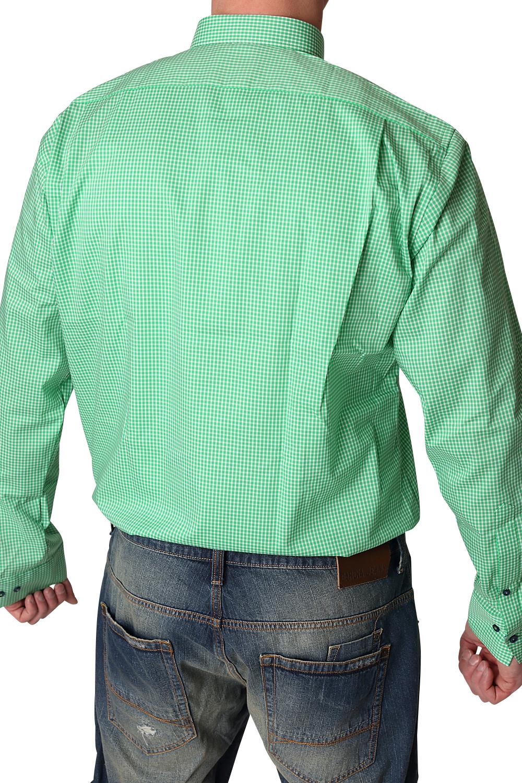 marvelis hemd modern fit 1733 69 45 gr n extra langer arm. Black Bedroom Furniture Sets. Home Design Ideas