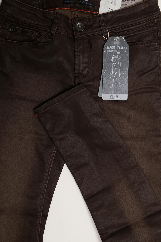 garcia damen stretch jeans riva 261 2260 superslim brown used. Black Bedroom Furniture Sets. Home Design Ideas